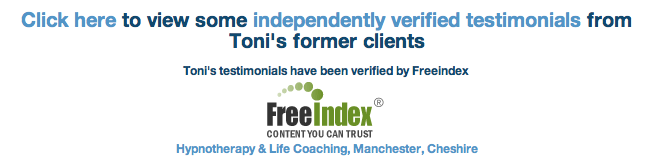Hypnotherapy and Life Coaching in Manchester, Altrincham, Cheshire testimonials