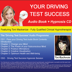 Pass your driving test hypnotherapy CD